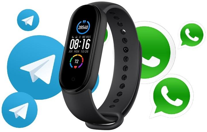 Xiaomi Mi Band 6 can offer the ability to reply to WhatsApp and Telegram messages