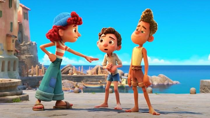 Yeni Pixar filmi Luca'dan rengarenk fragman