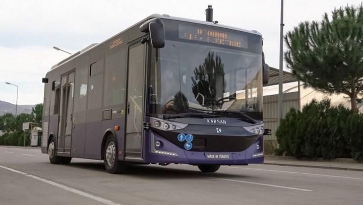 Karsan, düzey 4 otonom özelliklere sahip otobüsünün teknik ayrıntılarını paylaştı