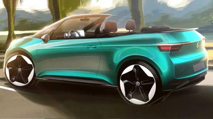 Volkswagen, elektrikli ID.3'ün üstü açılır versiyonunu üretmeyi değerlendiriyor