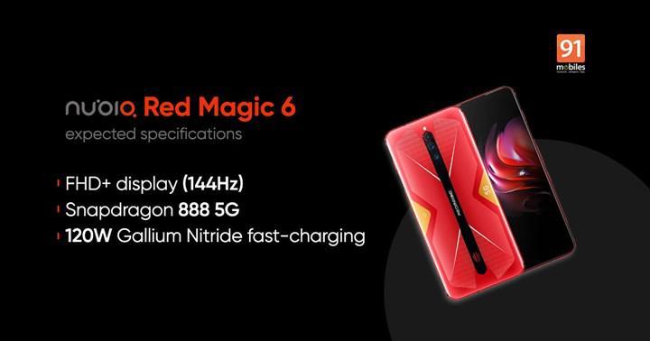 Nubia Red Magic 6 modeli de 18GB RAM sunacak ancak sanal olarak