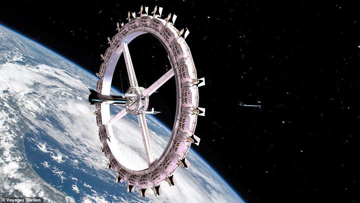 Construction of the first space hotel will begin in 2025