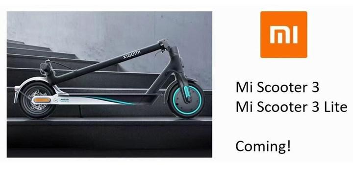 Two new electric scooters coming from Xiaomi