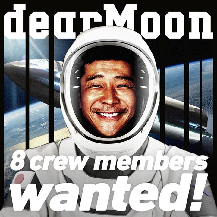 Applications started: Japanese billionaire going to the Moon in 2023 is looking for 8 volunteers