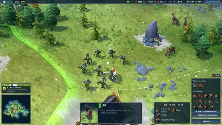 Viking temalı mobil oyun Northgard'dan oynanış videosu paylaşıldı
