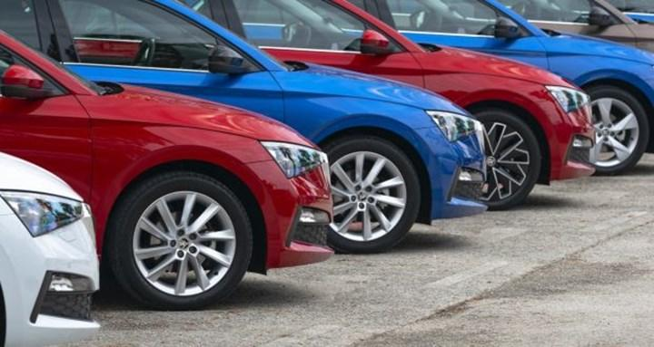 The fall in second-hand car prices continued in February