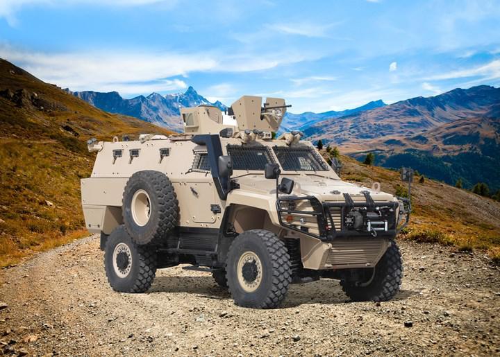 Otokar introduces mine protected COBRA II MRAP model