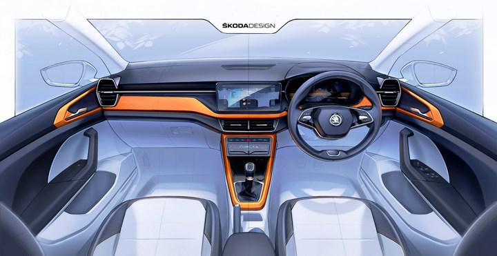 First teasers show up inside new Skoda Kushaq