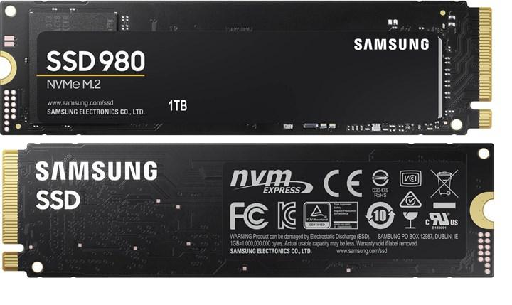 Samsung 980 SSD plays at the cost