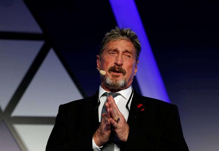McAfee founder accused of fraud and money laundering
