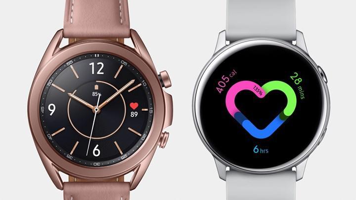 Samsung Galaxy Watch 4 ve Galaxy Watch Active 4 yakında geliyor