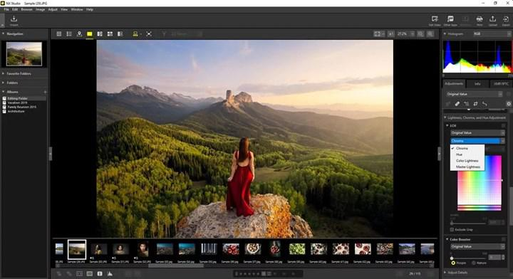 Free photo and video editing software from Nikon: NX Studio
