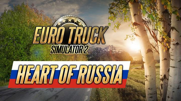 ETS 2's Russian DLC 'Heart of Russia' announced