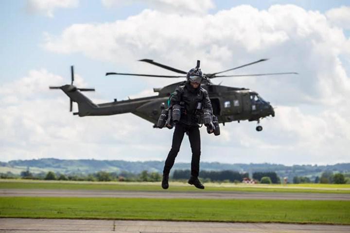 DARPA, jetpack teknolojisini askeri maksatla kullanmak istiyor