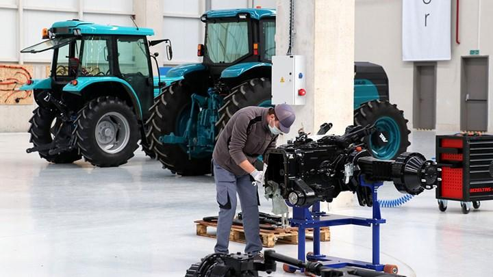 3 sizes of electric tractors arrive: Big version ready for mass production in June