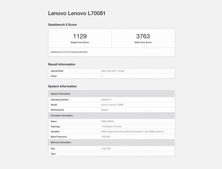 Lenovo Legion 2 Pro özellikleri sızdırıldı