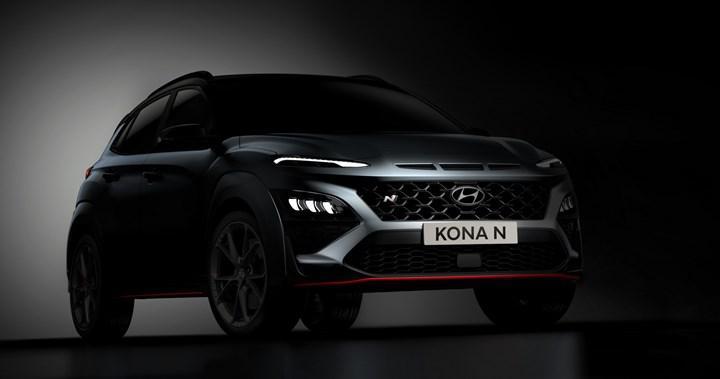 Yeni Hyundai Kona N'in gövde tasarımı ortaya çıktı