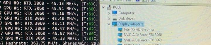 Nvidia zorda: RTX 3060 kazım sınırlamasını Çinli madenciler aştı