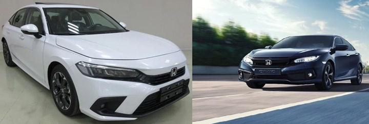 Production version of 2021 Honda Civic Sedan spied in China