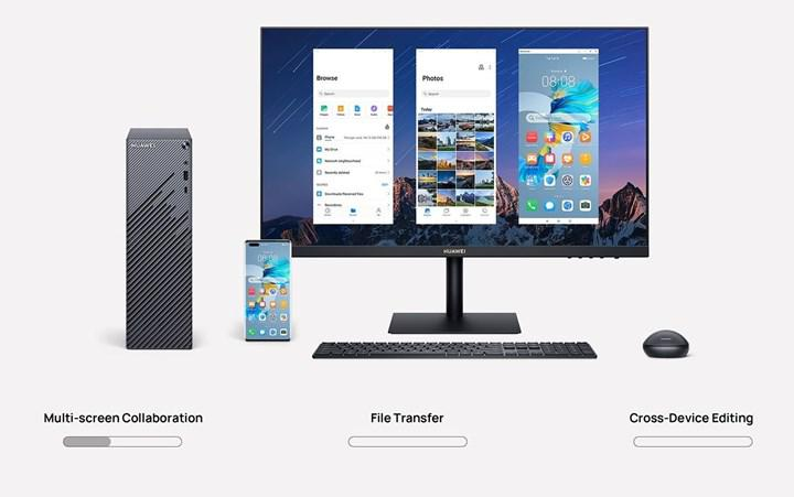 Huawei's first desktop computer appeared for sale in the global market