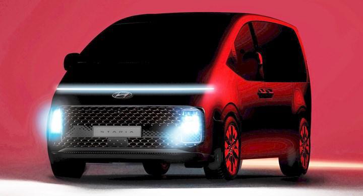 Hyundai'nin yeni modeli Staria ile tanışın