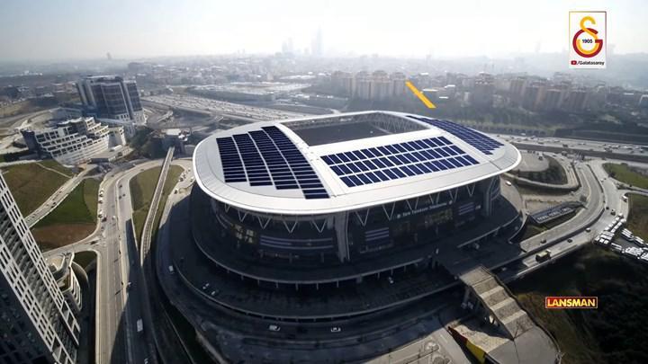 Türk Telekom Stadyumu çatısına dünyanın en büyük güneş enerjisi santrali kuruluyor