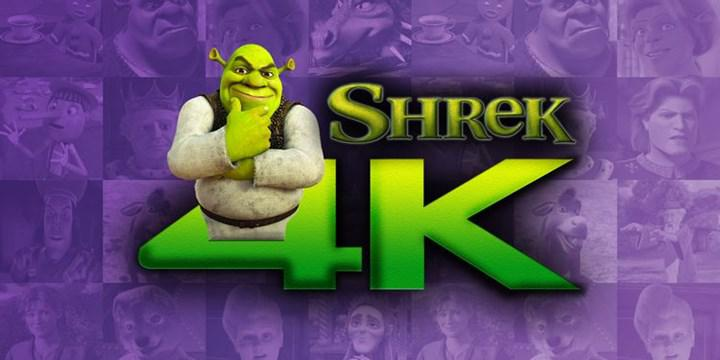 Shrek will be released in 4K format