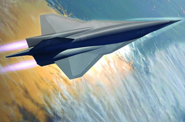 Where will the successor of the J58 engine that gives life to the SR-71 Blackbird be used?