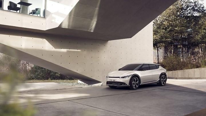 Electric Kia EV6 design revealed