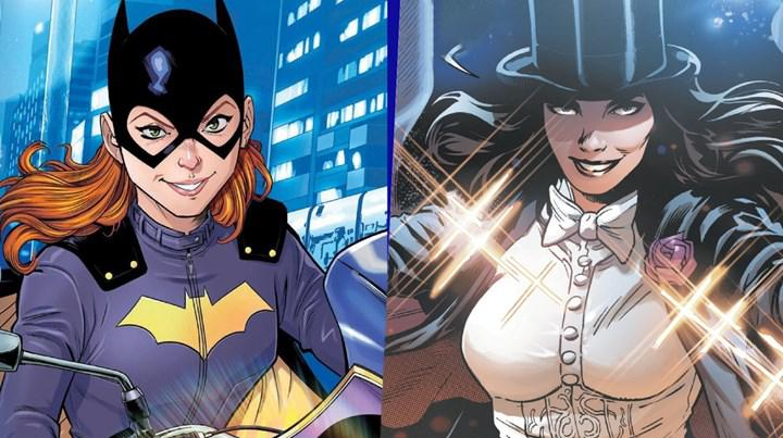 Warner Bros confirms projects for DC characters Batgirl and Zatanna