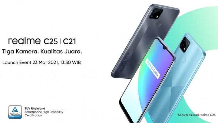 realme C25 introduced next week