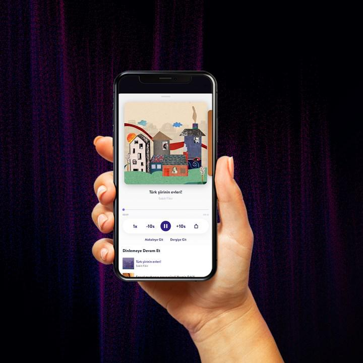 Podcast feature has come to Turkcell Dergilik application