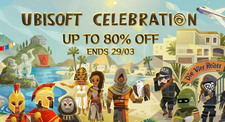 Steam'de Ubisoft oyunları indirime girdi: %80'e varan fırsatlar