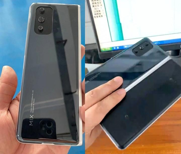 Images of Xiaomi's foldable phone are increasing