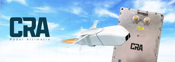 SOM seyir füzesine Meteksan'ın radar altimetresi ekleniyor