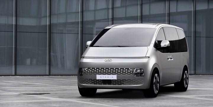 2021 Hyundai Staria'nın tasarımını gösteren yeni fotoğraflar geldi