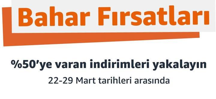Amazon Türkiye'nin yeni reklamı yayınlandı: Bahar Fırsatları başlıyor