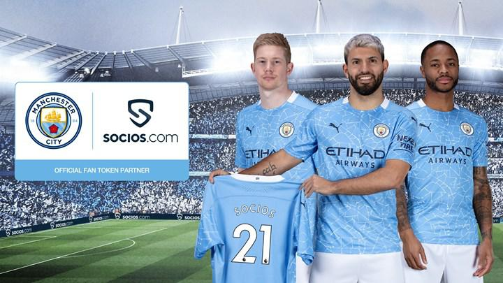 Manchester City issues cryptocurrency: deal with Socios