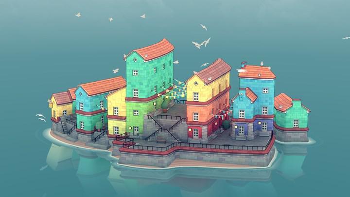 Şehir inşa etme oyunu Townscaper, mobil cihazlara geliyor