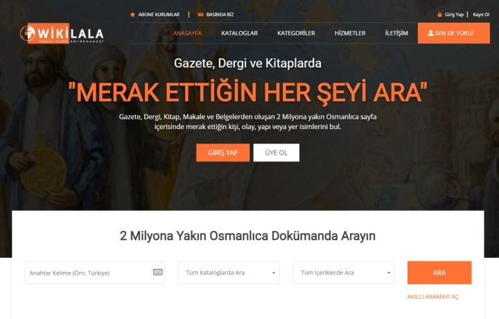 Digital library that brings together Ottoman texts: Wikilala