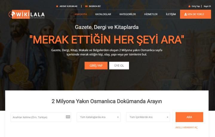 Osmanlıca metinleri bir araya getiren dijital kütüphane: Wikilala