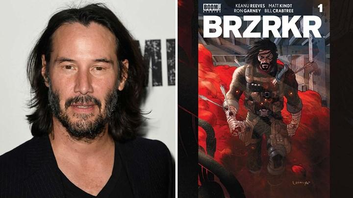The action-packed BRZRKR comic book series written by Keanu Reeves is adapted into film and anime by Netflix
