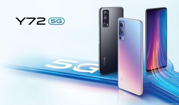 Dimensity 700'den güç alan Vivo Y72 5G piyasaya sürüldü