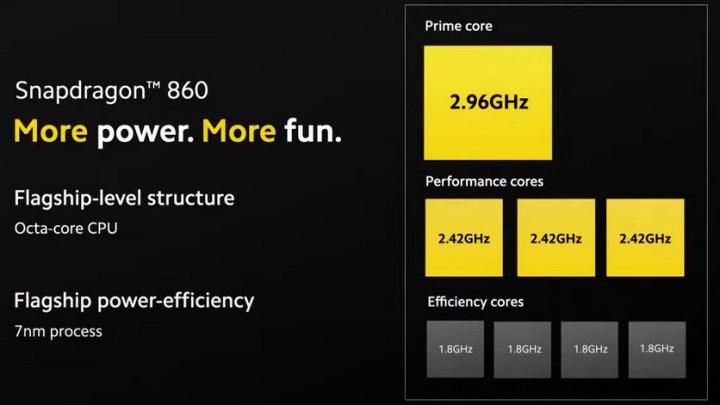 Technical details of Snapdragon 860 released: For affordable flagship phones