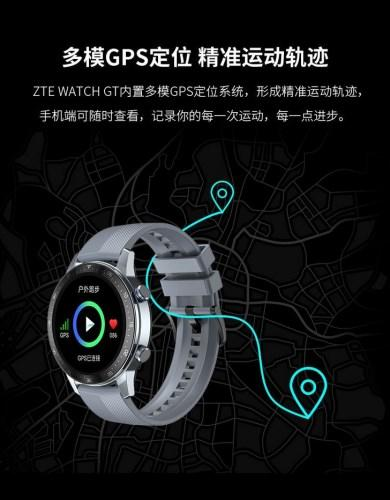Official images of ZTE Watch GT smartwatch model released