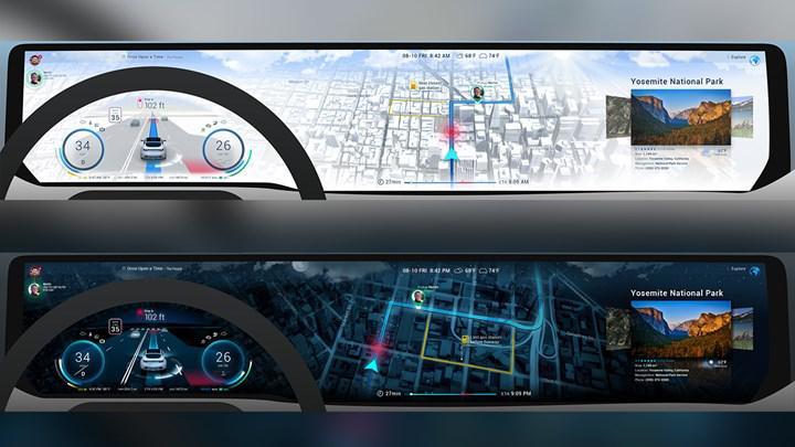 Unity ve Here, otomobillerin gösterge paneli için 3D arayüz geliştiriyorlar