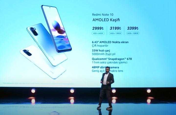 Redmi Note 10 serisi Türkiye'de: İşte fiyatlar!