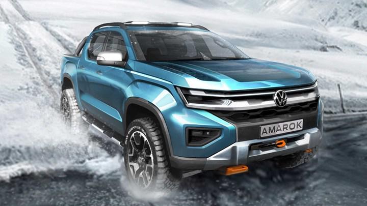 Yeni nesil Volkswagen Amarok'un tasarımı yavaş yavaş açığa çıkıyor: İşte yeni teaser