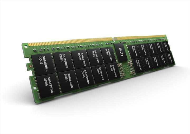 Samsung 512GB DDR5 RAM'ini duyurdu