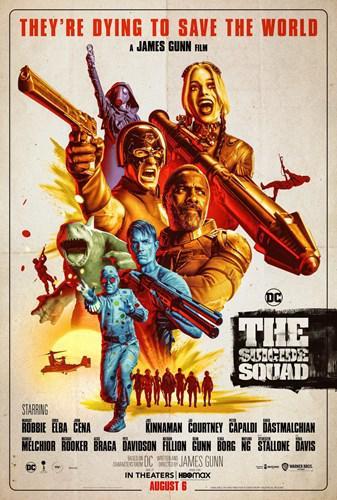 +18 yeni The Suicide Squad filminin ilk fragmanı yayınlandı